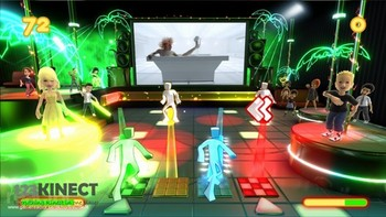 Dance Paradise for the XBox 360 Kinect