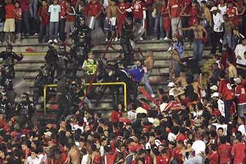 Soccer Stampede crush fans