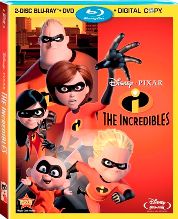The Incredibles 2-Disc Blu-Ray + DVD