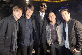 Big Time Rush and Snoop Dogg