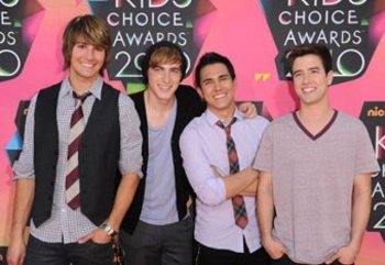 BTR at the Kid's Choice Awards!