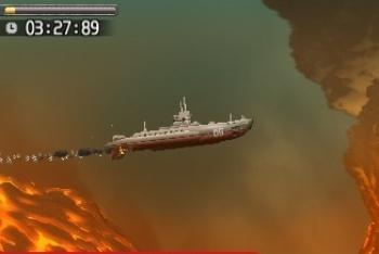 Steel Diver underwater volcano