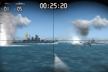 Steel Diver periscope mode