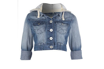 Denim jacket, $30, NewLook.com