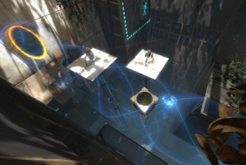 Portal 2 screenshot coop level