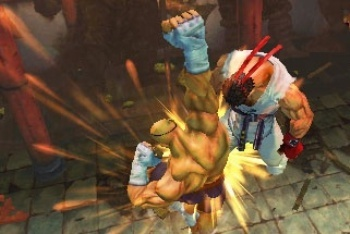 Super Street Fighter IV 3D sagat tiger uppercut