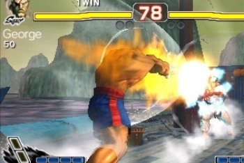 Super Street Fighter IV 3D sagat fireball