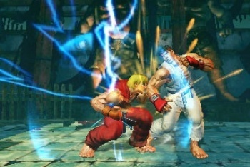 Super Street Fighter IV 3D ken ultra comba