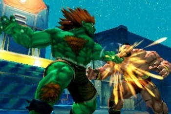 Super Street Fighter IV 3D blanka zangief