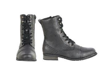Lace up boots, $29, Delias.com