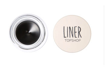 Gel eyeliner in Ink, $16, Topshop