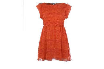 Orange dress, $20, NewLook.com