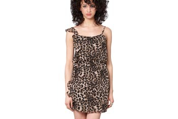 Wild side leopard dress, $44, FredFlare.com