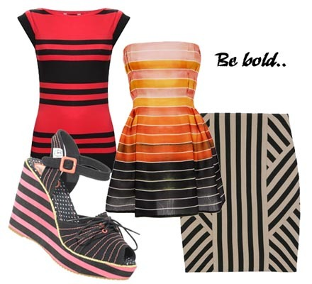 Go bold with stripes!