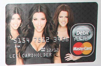 Kim Kardashian's Prepaid Card