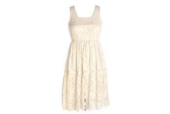 Lace Dress, $34, Delias.com