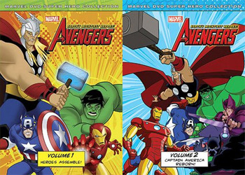 The Avengers Volumes 1 and 2