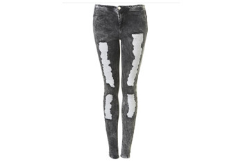 Acid jeggings, $50, Topshop