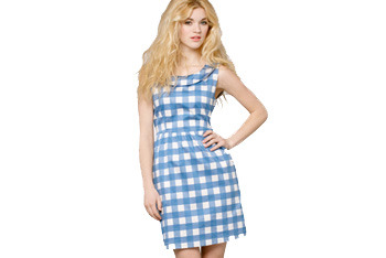 Gingham Peggy dress, $64, FredFlare.com