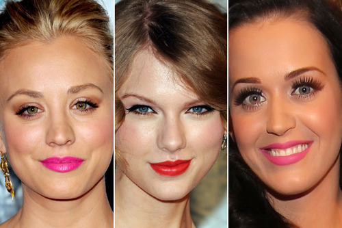 Bold lipstick adds instant glamour!