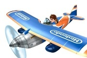 Pilotwings Resort plane