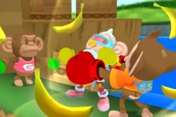 Super Monkey Ball 3D fighting