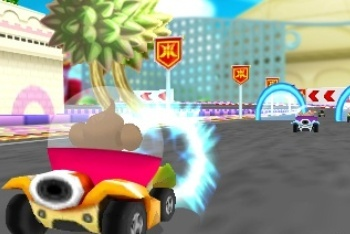 Super Monkey Ball 3D racing