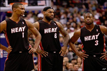 Dissing the Miami Heat