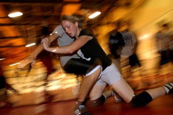 Girls wresting is gaining ground