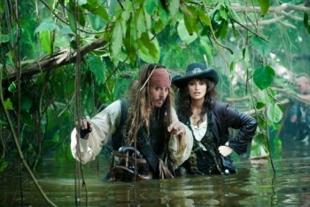 Jack Sparrow in Pirates of the Caribbean: On Stranger Tides