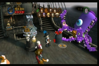 LEGO Pirates of the Caribbean screenshot kraken