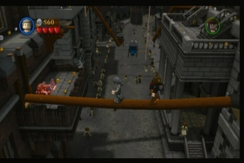 LEGO Pirates of the Caribbean screenshot sword fight