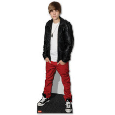 Life-size Justin Cut Out