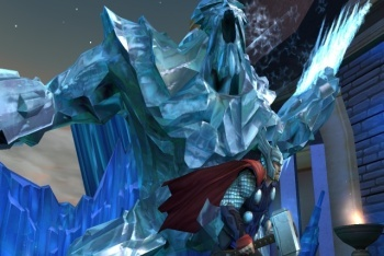 Thor: God of Thunder screenshot ice boss