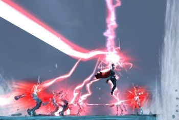 Thor: God of Thunder screenshot multiple red lightning