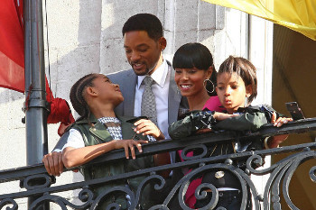 Will, Jada, Jaden and Willow Smith