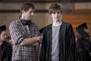 Director Gavin Wiesen with Freddie Highmore
