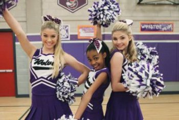 Ant farm cheerleader