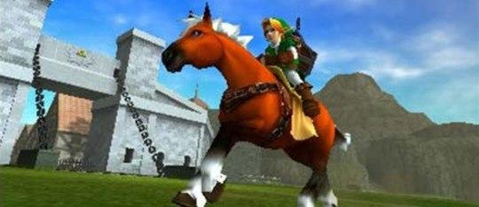 Feature feature zelda ocarina of time 3d screenshot epona horse