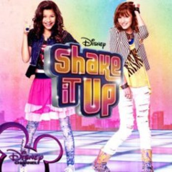 Zendaya and Bella are a dancing team on their way to fame in Shake it    Zendaya And Bella Thorne Shake It Up