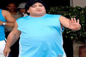 Soccer Legend Diego Maradona