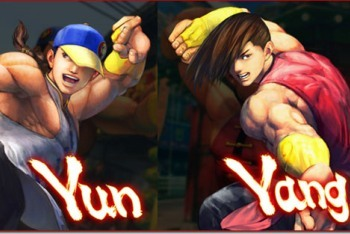 Super Street Fighter IV Arcade Edition Yun and Yang