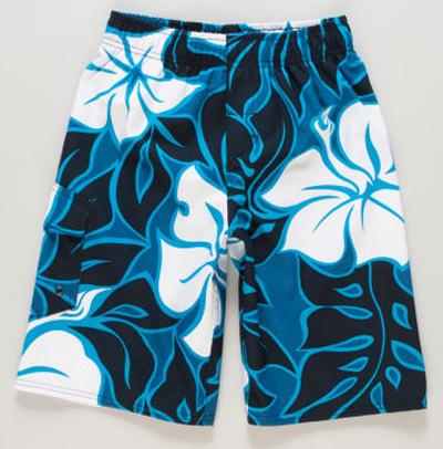 Quiksilver Boys 8-16 Island Eyes Boardshorts