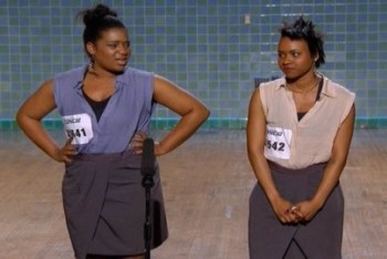 So You Think You Can Dance: Season 8, Ep. 2 and 3 :: Natalia and Sasha Mallory