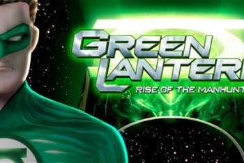 Green Lantern Rise of the Manhunters Wii Title