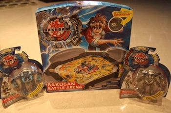 Bakugan Mechtanium Surge Battle Arena