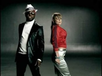 Will.I.Am and Fergie in the vid for My Humps
