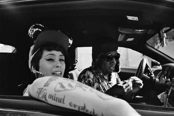 Kreayshawn just signed to a label after her song