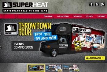 SuperHeat Website - Throwdown Tour