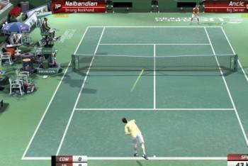 Virtua Tennis 4 gameplay screenshot